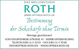 Logo Brillenstudio Roth