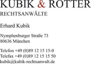 Kubik & Rotter bbr